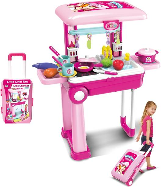 Kitchen Set For Kids Buy Kids Kitchen Sets Online At Best Prices In India Flipkart Com