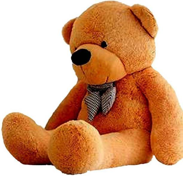 HappyChild amazing teddy bear ( BROWN COLOR 4 FEET )  - 120.5 cm