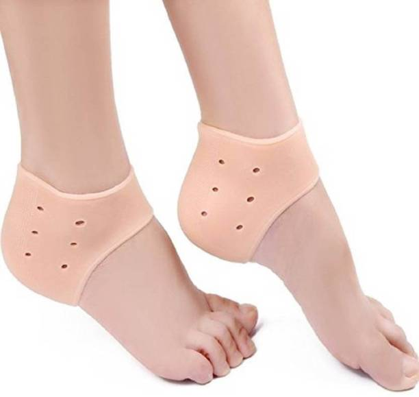 GADGET TREE anti heel crack set socks pain foot gel relief anti silicone moisturizing Heel Support