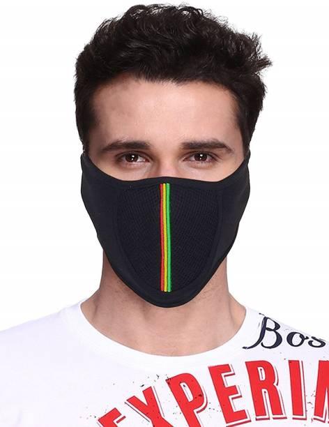 GoodFeel Black Bike Face Mask for Men & Women