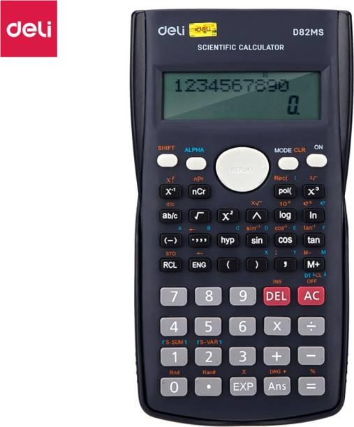 Deli WD82MS Core Series Black 240 Functions Scientific  Calculator