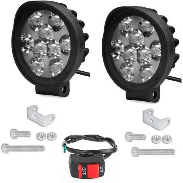 AutoPowerz LED Fog Light for Universal For Bike Universal For Car