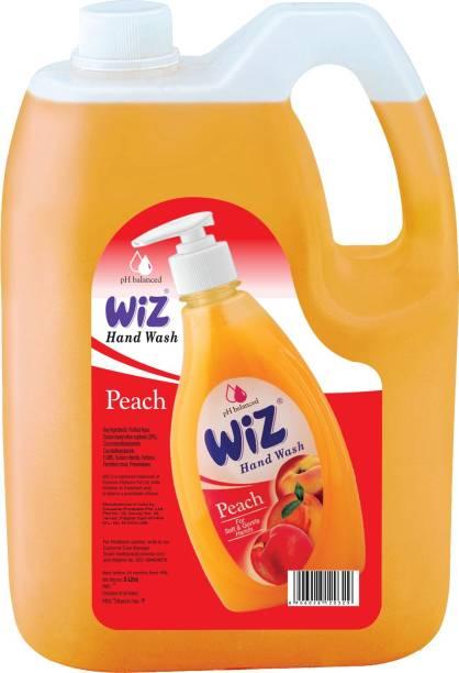Wiz Liquid Hand Wash Peach Hand Wash Bottle