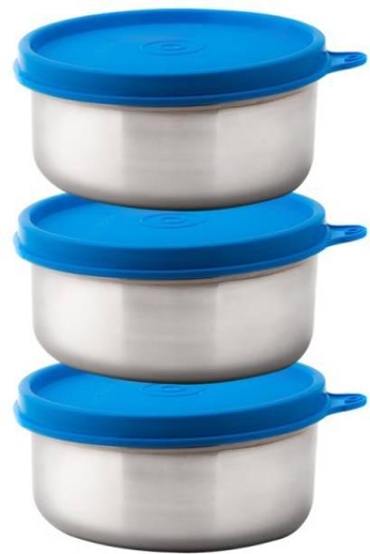 Signoraware Executive Medium Steel 3 Containers Lunch Box