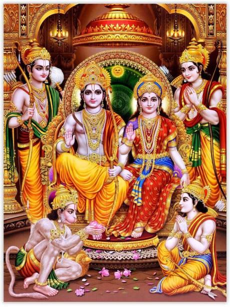 Ram Darbar Paper Poster Paper Print
