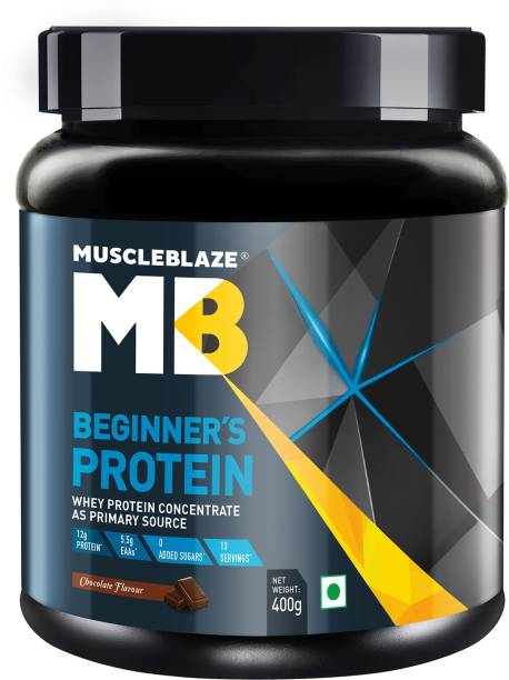 MUSCLEBLAZE Beginner's Whey Protein