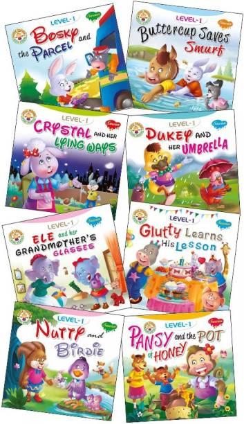 Story Books Level 1 Set Of 8 Books