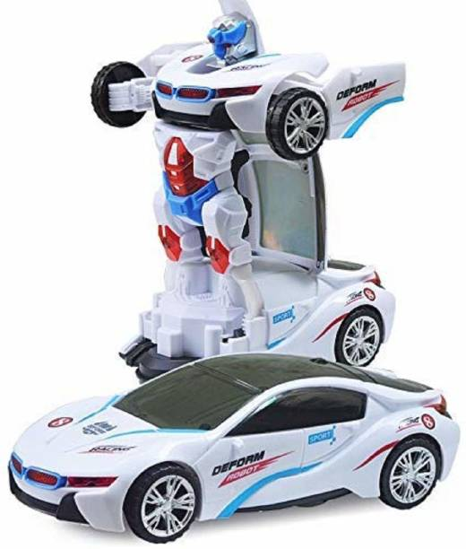 HOME BUY Battery Operated Robot Race car