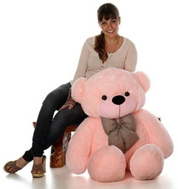 Mrbear 3 feet Huggable And Loveable For Someone Special Teddy Bear (Pink)  - 90 cm