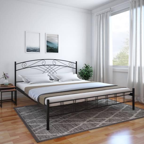 @Home by nilkamal Nimbo Metal Queen Bed