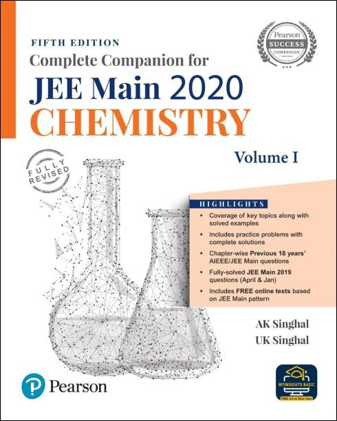 Complete Companion for JEE Main 2020 Chemistry Volume 1