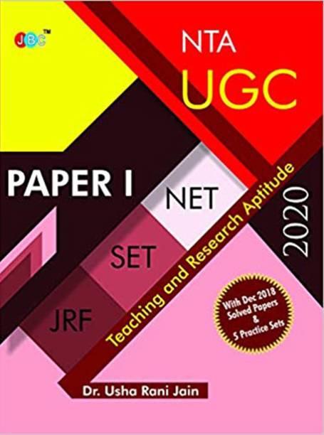 Nta UGC Net / Set / Jrf - Paper 1