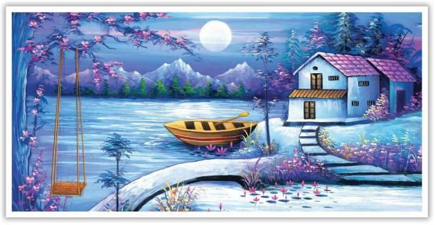 Splendid Landscape View Paper Poster Paper Print