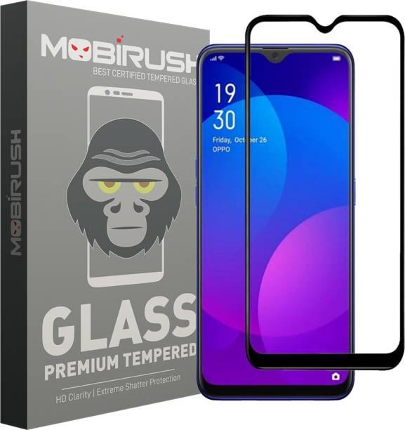 MOBIRUSH Edge To Edge Tempered Glass for Oppo F11