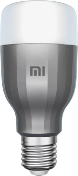Mi WiFi 10 W LED (White and Color, E27 Base) Smart Bulb