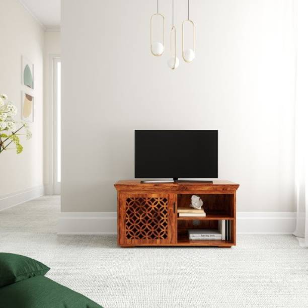Flipkart Perfect Homes PureWood Sheesham TV Entertainment Unit