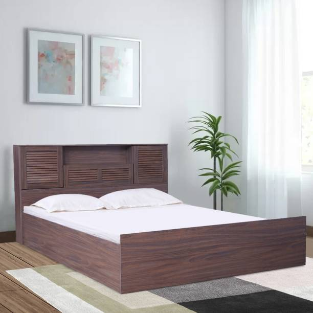 Hometown Bolton Engineered Wood Queen Hydraulic Bed