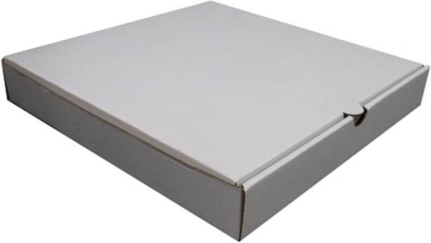 IMPRINTS Corrugated Paper 8x8x1.5 Inches pizza packaging, Pizza box, packaging of any square shaped item having height not more than 1.5 inch Packaging Box