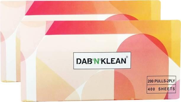 Dab N Klean Facial Tissues