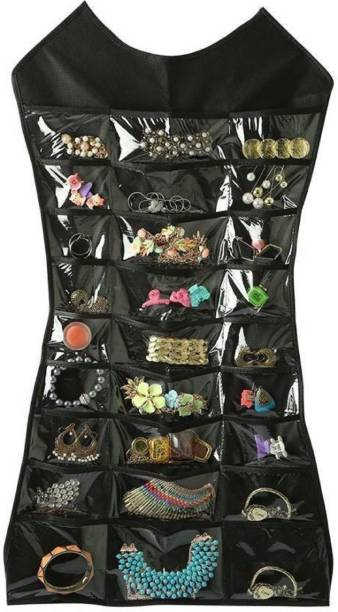 ultimatefashionista Dress Shaped Double Sided Jewelry Ear rings Holder Hanging Accessories Organizer Jewellery Organizer, Accessories Organizer Jewellery Organizer