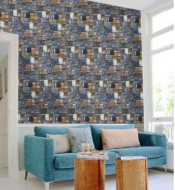 Univocean 3D Modern Stone Wallpaper, Wall Poster