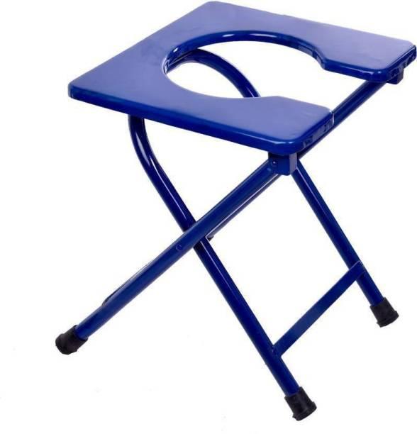 PHARMACYWALA POWDER COATED COMMODE STOOL Commode Chair