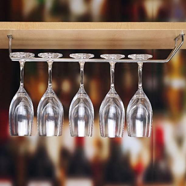 imPULSE Single Wine Glass Holder - Regular Stainless Steel Wine Rack