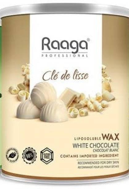 Raaga White Chocolate Liposoluble wax Wax