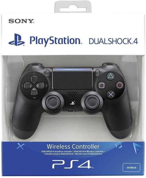 SONY Dualshock 4 Wireless Controller for Playstation 4 - Black V2  Joystick