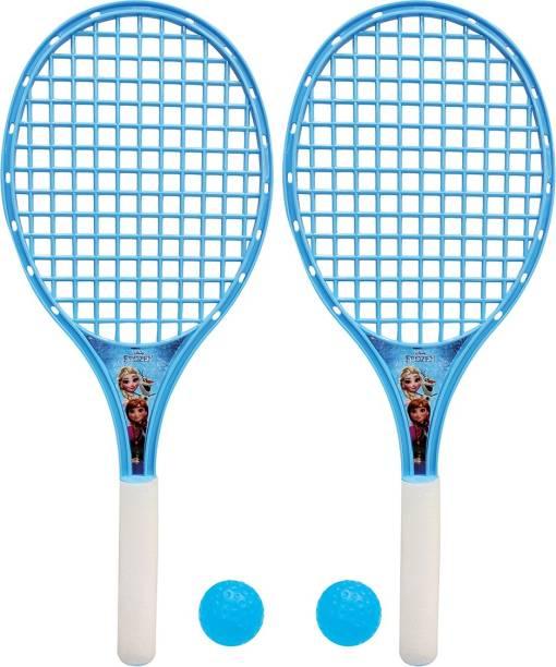 DISNEY Frozen Beach Tennis Racket Set - Large Size for Kids