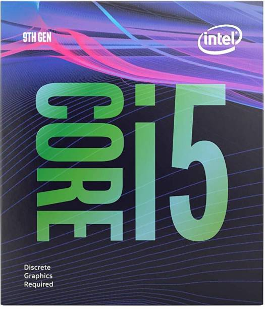 Intel Core i5-9400F 9th Generation 2.9 GHz Upto 4.1 GHz LGA 1151 Socket 6 Cores 6 Threads 9 MB Smart Cache Desktop Processor