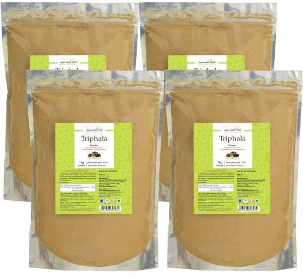 Ayurvedic Life Triphala Powder - 1 kg Value Pack of 4