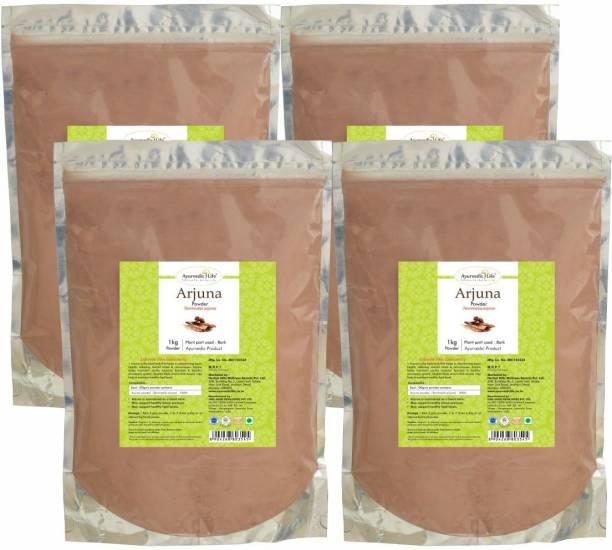 Ayurvedic Life Arjuna Powder - 1 kg Value Pack of 4