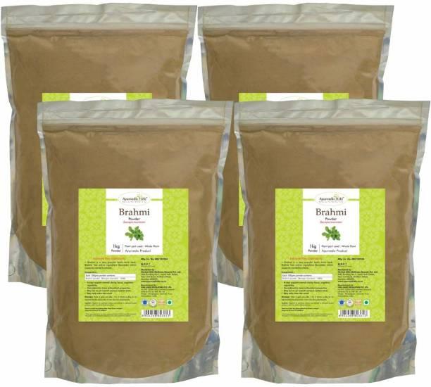 Ayurvedic Life Brahmi Powder - 1 kg Value Pack of 4