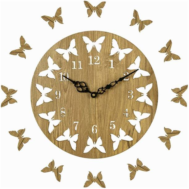 Basement Bazaar Analog 25.5 cm X 25.5 cm Wall Clock