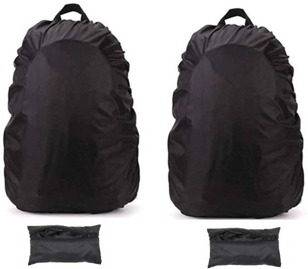 TASHKURST Waterproof Travel Camping Hiking Backpack Dust Rain Cover pack of 2 Dust Proof, Waterproof Laptop Bag Cover, School Bag Cover, Luggage Bag Cover, Trekking Bag Cover