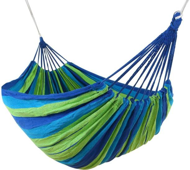 Mantavya Outdoor Hang Bed with backpack Polyester Small Swing