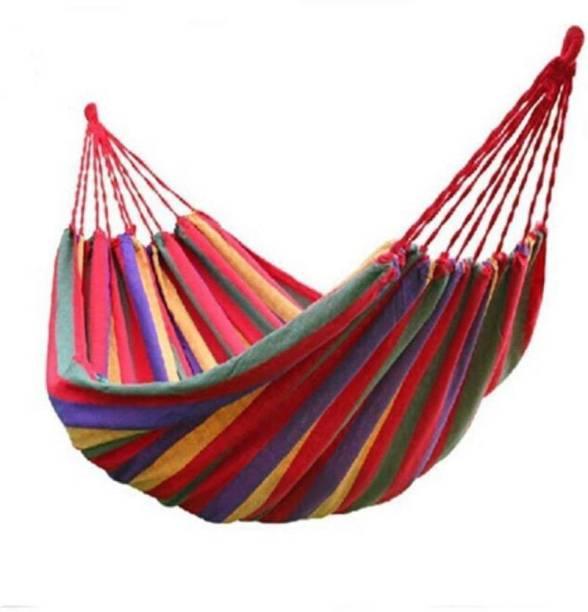 Luximal Portable Outdoor Hammock Cotton Swing