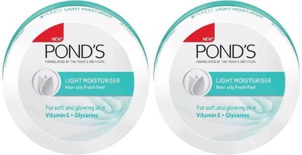 PONDS Light Moisturiser Non-Oily Fresh Feel (Pack of 2)