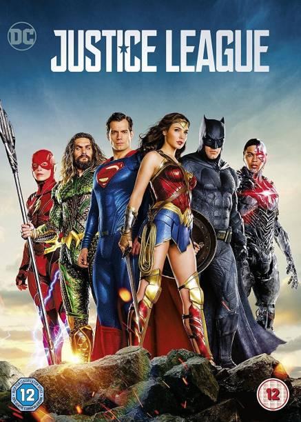 Justice League (DVD + Digital Download) (Slipcase) (Fully Packaged Import) (Region 2)