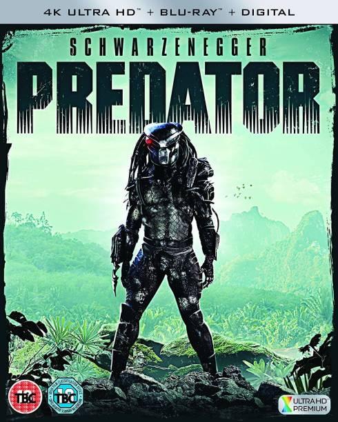 Predator (4K UHD + Blu-ray + Digital HD) (2-Disc) (Slipcase Packaging + Fully Packaged Import)
