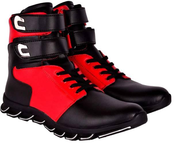 Zixer Exclusive Hip Hop Dancing Boots Sneakers High Tops For Men
