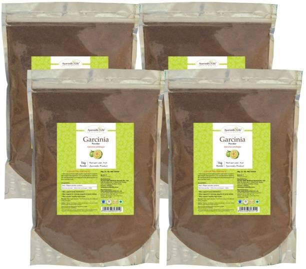 Ayurvedic Life Garcinia Powder - 1 kg Value Pack of 4