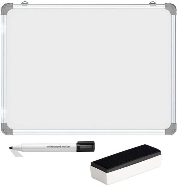 Big India Mart Non Magnetic Non Magnetic Melamine Medium Whiteboards and Duster Combos