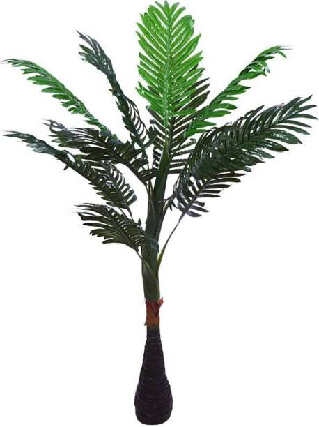 KAYKON Big Artificial Palm Tree Natural Looking Plant for Home Decor Office Decor - 40 inch Artificial Plant