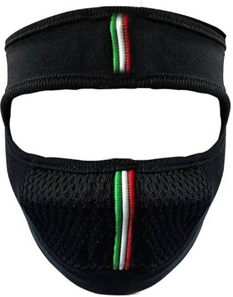 GoodFeel Black Bike Face Mask for Men & Women