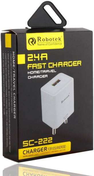 Robotek SC-222 2.4 A Mobile Charger with Detachable Cable