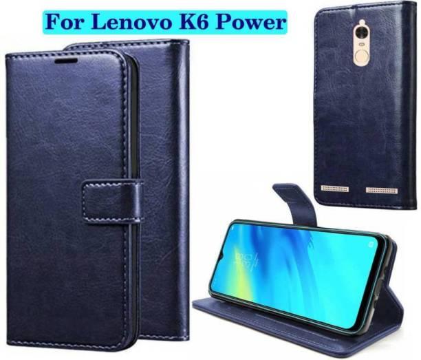 Finely Flip Cover for Lenovo K6 Power