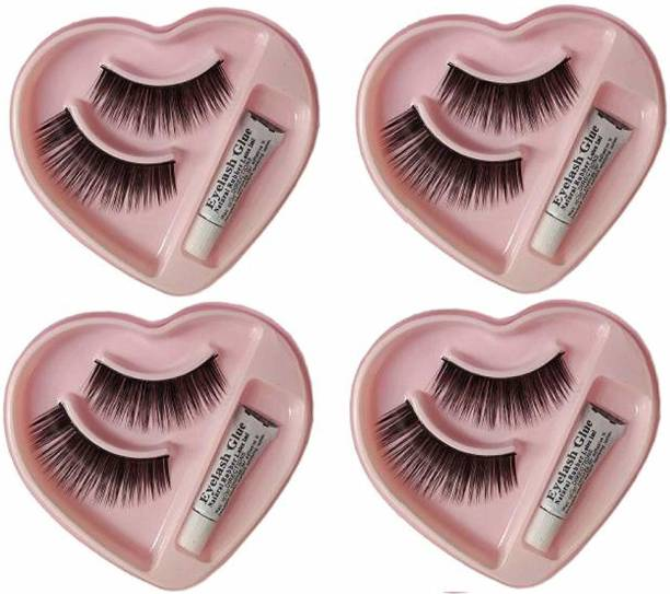 49563d1418d OffersSpecial Price. Shopeleven 002 False eyelash [pack of 4] waterproof &  Reusable