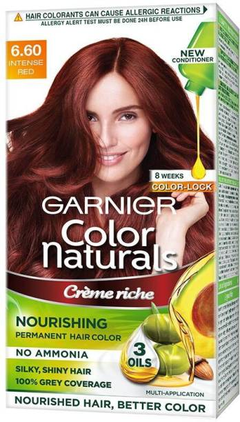 GARNIER Color Naturals Creme , Shade 6.60, Intense Red